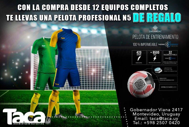 Taca Indumentaria Deportiva -  TacaUy Twitter Profile  6a067fefdebfb