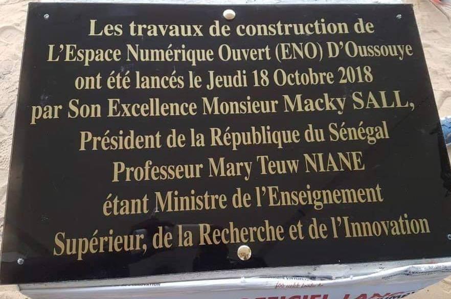Le Président de la République du Sénégal, S. E. Monsieur @Macky_Sall SALL et le Pr @NIANEMARYTEUW, Ministre de l\