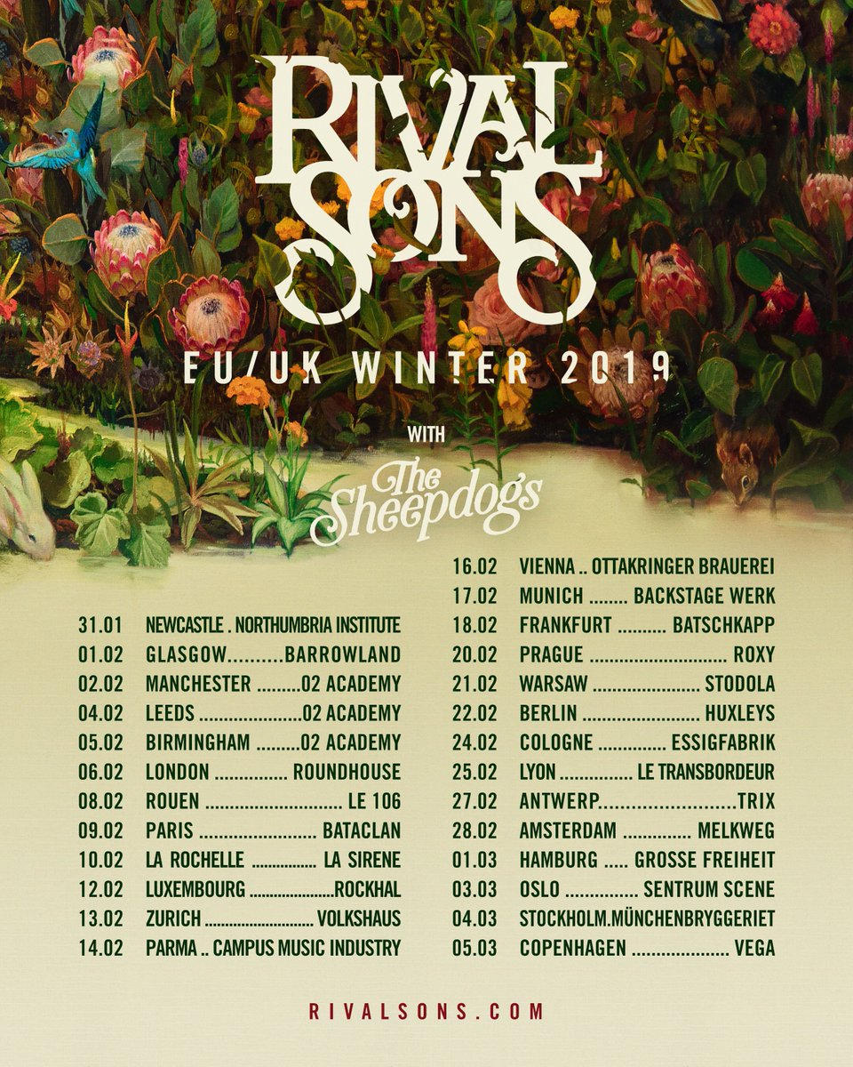 Rival Sons on Twitter: