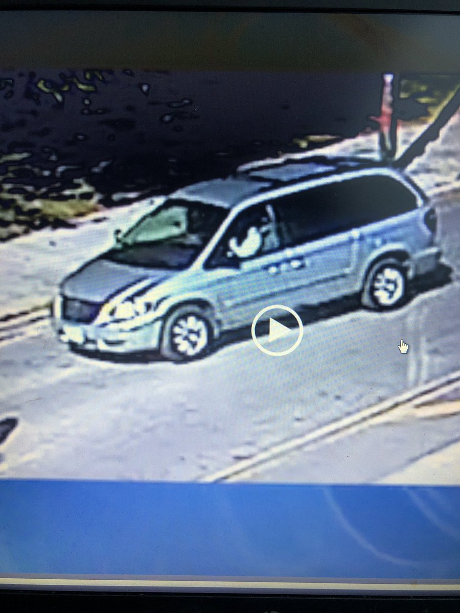 If you see this Dodge Caravan with extensive front end damage call 911. Driver is wanted for a hit and run Thurs. at 11:15am. 52yo Connie Mangrum was killed, 19yo Javonte Kirkland is fighting for his life after the driver plowed onto the sidewalk at 57th and S. Racine.@fox32news