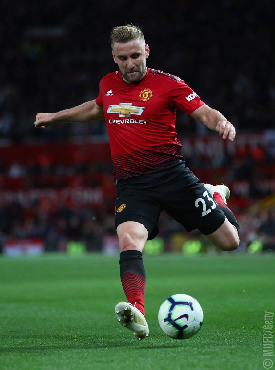Jose on @LukeShaw23: 'In the difficult moments when he was not selected, not playing regularly, he was always saying: 'I want to play for you, I want to play for United. I'm going to make it.' He faced the process in a brave way.' #MUFC