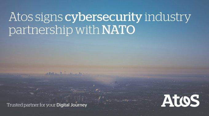Nous avons signé un accord avec la #NATOCommunicationsandInformationAgency à la cérémonie an...