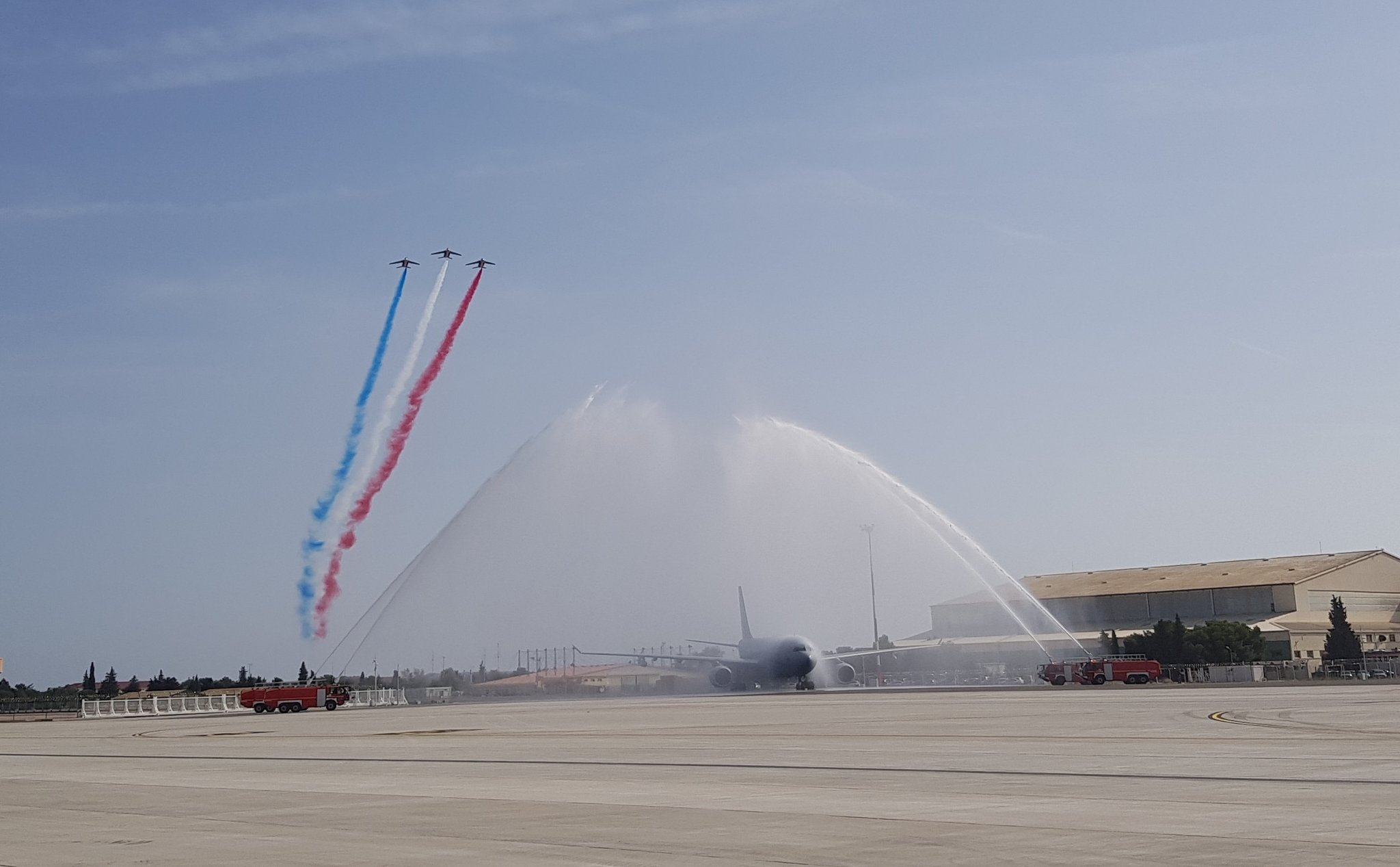 French Air Force Celebrates Arrival of Airbus A330 MRTT