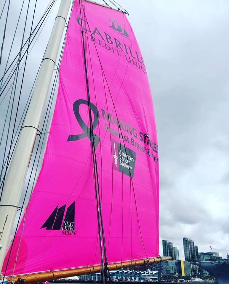 Join Chamber member Next Sailing in their Fight and Sail to End Breast Cancer!  This Pink Sail will be up for all October excursions. 10% of the proceeds directly to Making Strides Against Breast Cancer, so book today!  https://t.co/H2Kg5T2kG7