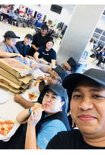 Thank you to <a target='_blank' href='http://twitter.com/GeneralsPride'>@GeneralsPride</a> principal <a target='_blank' href='http://twitter.com/WLHSPrincipal'>@WLHSPrincipal</a> for the 🍕 🎉 yesterday. We feel the love! ❤️ <a target='_blank' href='https://t.co/8hjE2tFHMX'>https://t.co/8hjE2tFHMX</a>