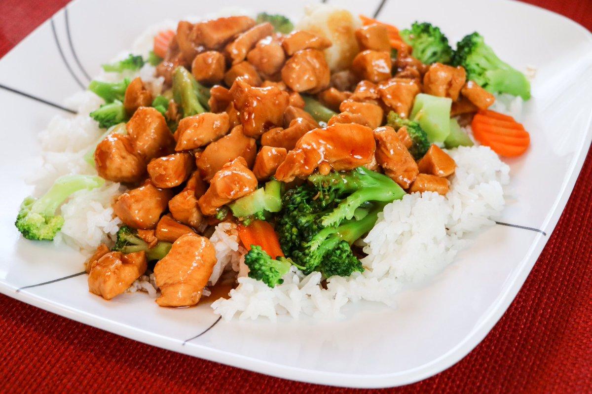 Bourbon Chicken is the perfect dinner recipe!  #recipe #dinner ⬇️ https://t.co/mb4HzRJu5x https://t.co/Hx7MPnKEyL