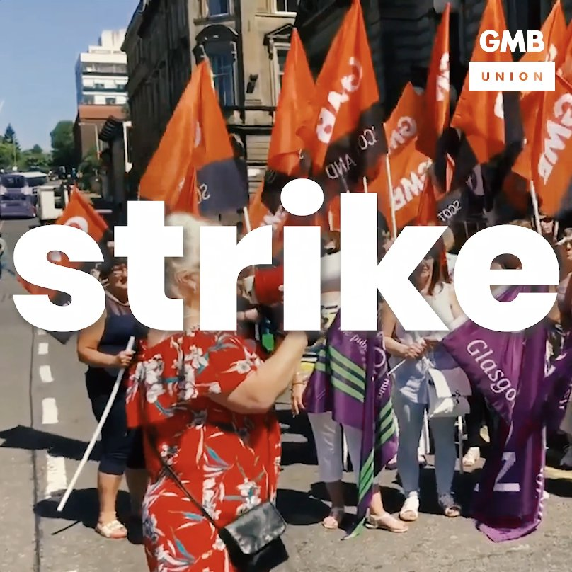 Tomorrow more than 8,000 workers will take to the streets in the biggest equal pay strike ever. Were proud to stand with the women who make Glasgow in their battle for justice. Support the strike? Share👇 #GlasgowWomensStrike ✊