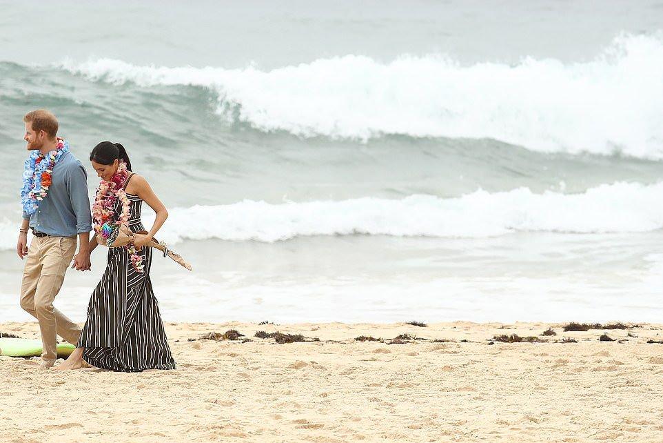 ¿Qué te parece la reacción de #MeghanMarkle en esta playa australiana? https://t.co/Y5gT3Rkkc5