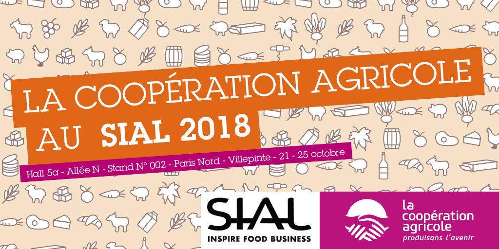 #SIALParis Parce qu'elles collectent et transforment les productions des #agriculteurs français, les #coopératives agricoles proposent une gamme très large et diversifiée pour tous les besoins alimentaires. Retrouvez @lacoopagricole au @sial_paris.  https:// www.lacooperationagricole.coop/fr/de-la-fourchette-la-fourche-la-cooperation-agricole-au-sial-paris-2018  - FestivalFocus