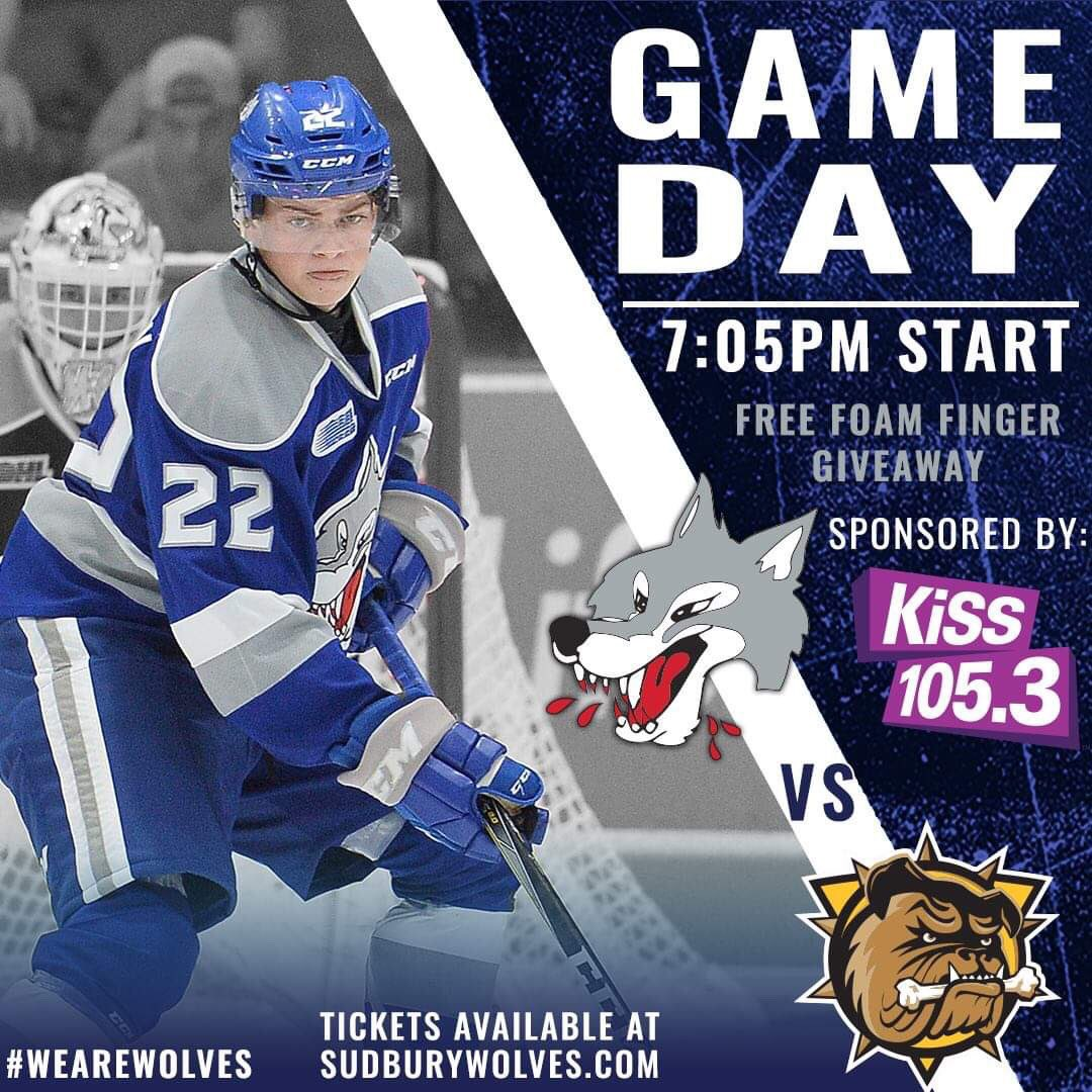 Sudbury Wolves On Twitter It S A B E A Utiful Day For Hockey