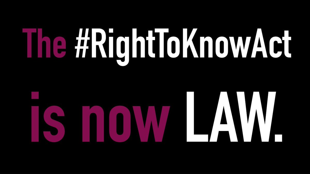 New laws that go in effect TODAY affect what rights you have if stopped by the NYPD. #RightToKnowAct