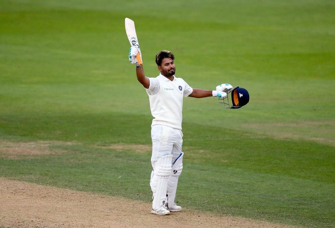 Rishabh Pant has scored centuries in England and Australia giving glimpse of his exceptional talent. (Credits: Twitter/ Rishabh Pant)
