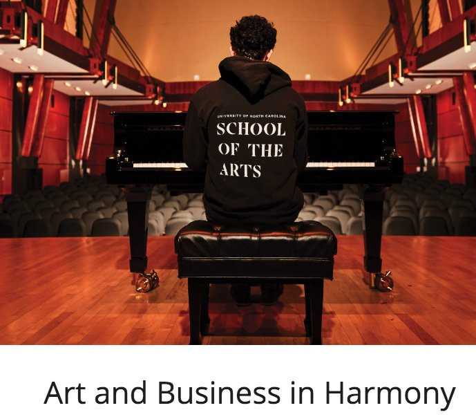 Where art and business create harmony! @WakeForestBiz and @UNCSA have partnered - read more in our magazine: https://t.co/Qi7uuWA1QN