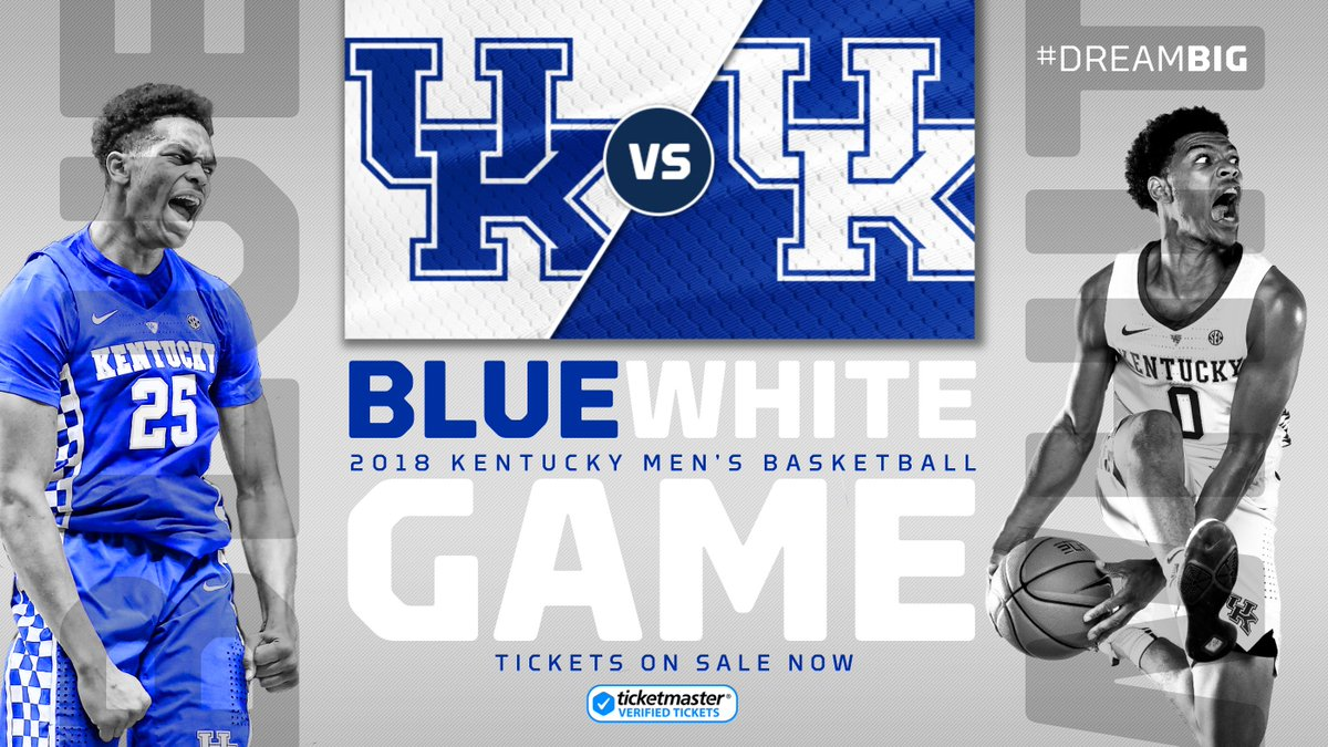 Calling all #BBN students: Ellen and I will be offering two scholarships for the 2019 spring semester for students who attend our #BlueWhite Game on Sunday. Tickets are just $5. Wont find better odds than this to win tuition! bit.ly/2CUC1Pu