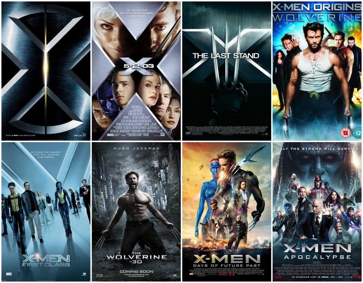 سلسلة أفلام X Men بالترتيب Youtube 7