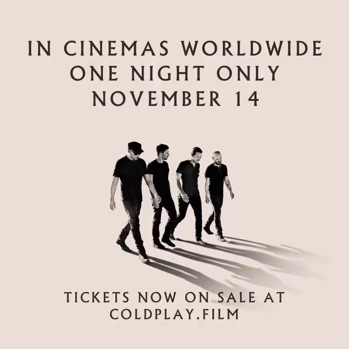 Coldplay's photo on #AHFODfilm