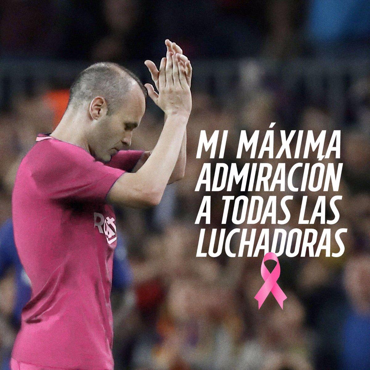 Andrés Iniesta's photo on Cáncer de Mama