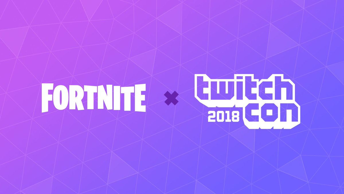 Fortnite is heading to #TwitchCon2018! Check out our blog here okt.to/hbq37B and be sure to follow our adventures next week by checking out #FortniteTwitchCon