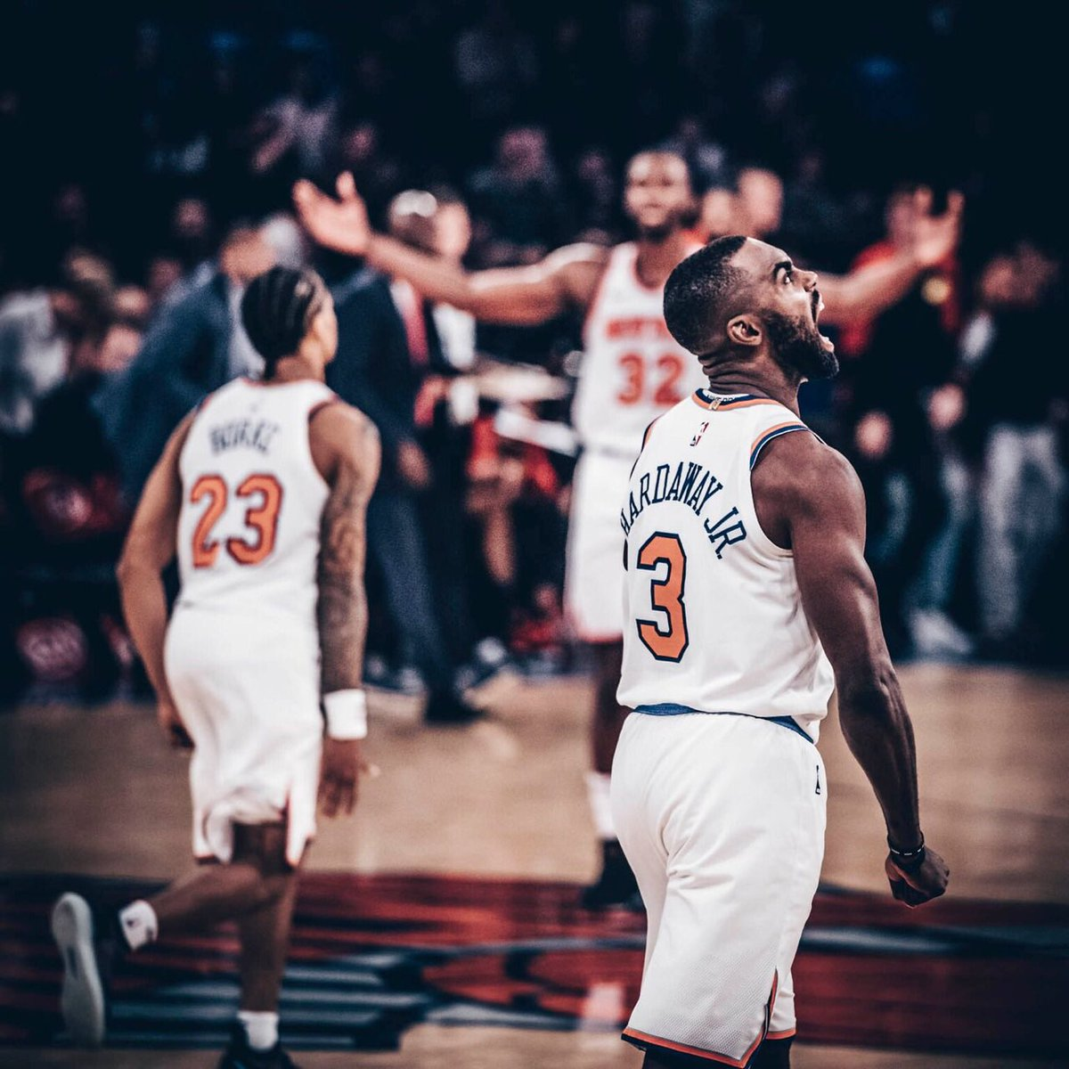 NEW YORK KNICKS's photo on GAME DAY