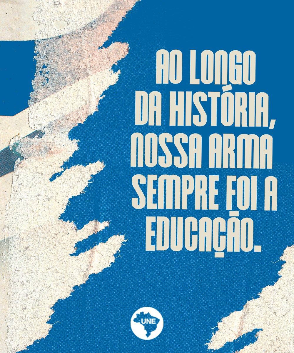 Em luta pela educação!