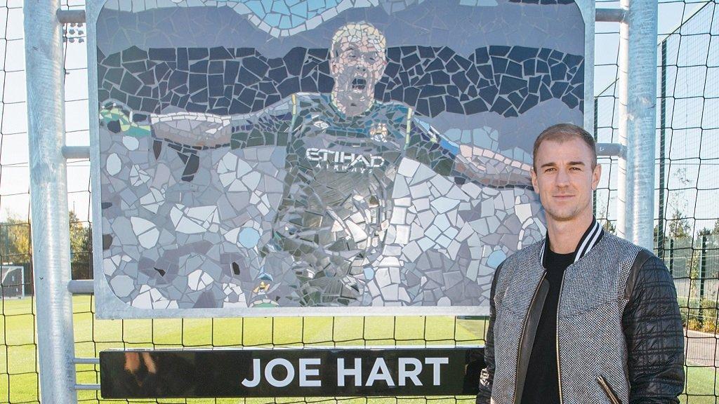 Manchester City's photo on Joe Hart