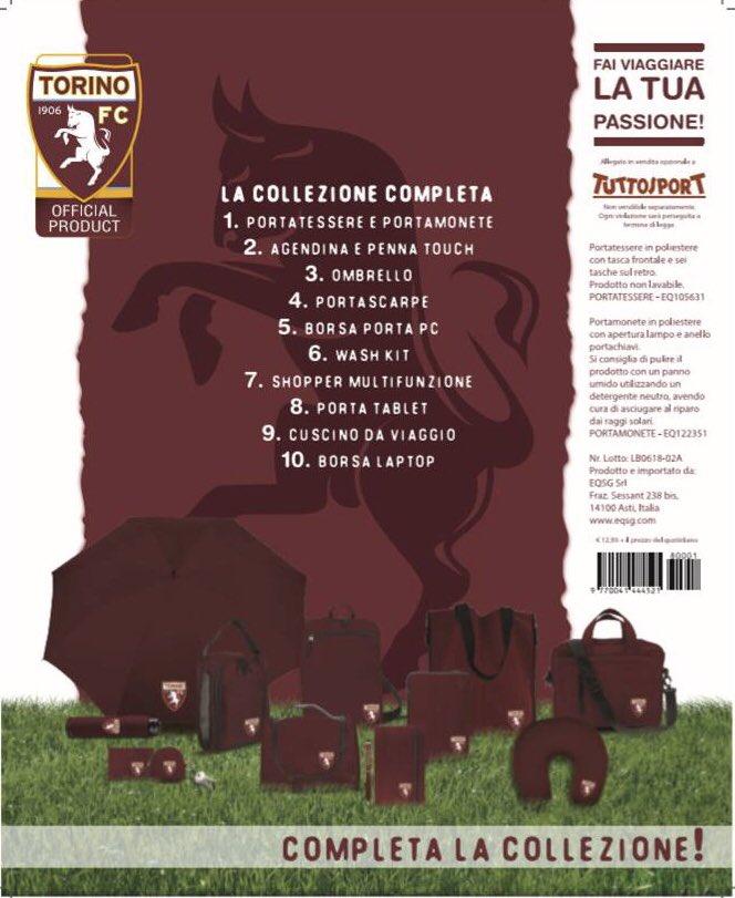 """Da domani, in edicola con @tuttosport e per 10 settimane fino a Natale, potrai trovare la collezione ufficiale """"Torino Traveller"""". Corri in edicola, porta ovunque la tua passione per il Toro! #SFT"""