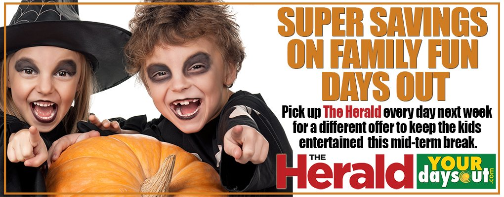 Herald Halloween | YourDaysOut | Things to do in Ireland