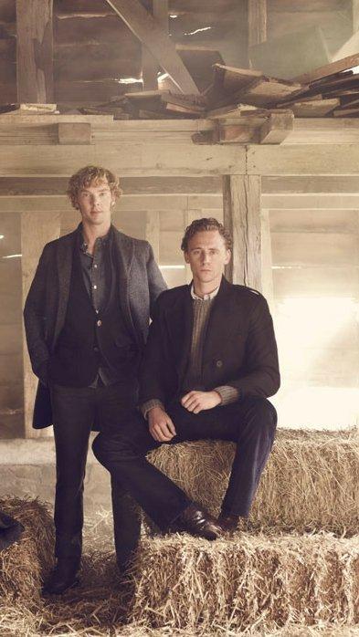 📸 — Tom Hiddleston & Benedict Cumberbatch for War Horse (2015).