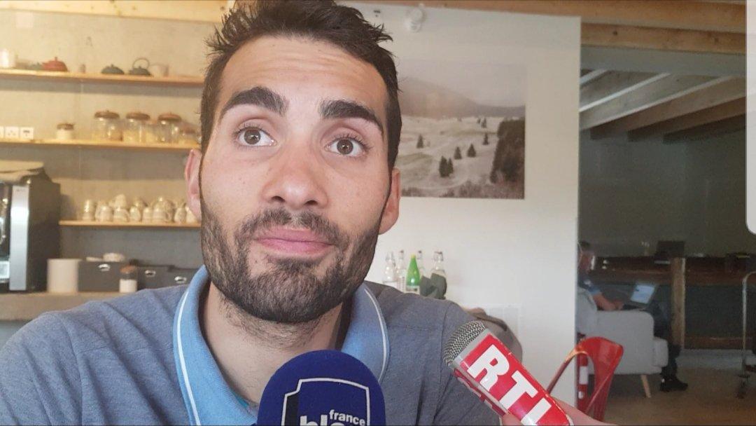 """VIDEO Martin Fourcade en stage dans le Vercors: """"J\"""