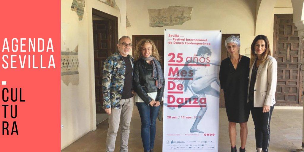 Mes de Danza celebra su 25ª edición con 25 compañías y un total de 50 funciones, además de un completo programa de actividades periféricas ow.ly/Ghcj30miqrT @MesdeDanza #CulturaSev