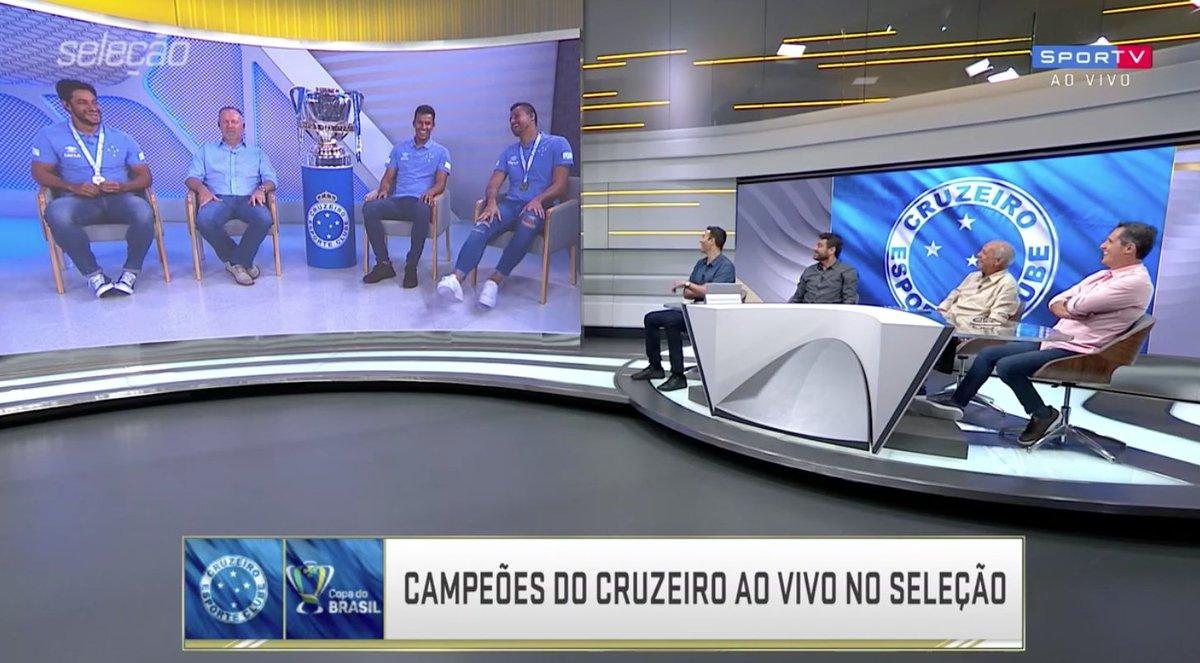 Será que essa resenha tá boa, torcedor do Cruzeiro?   #SelecaoSporTV