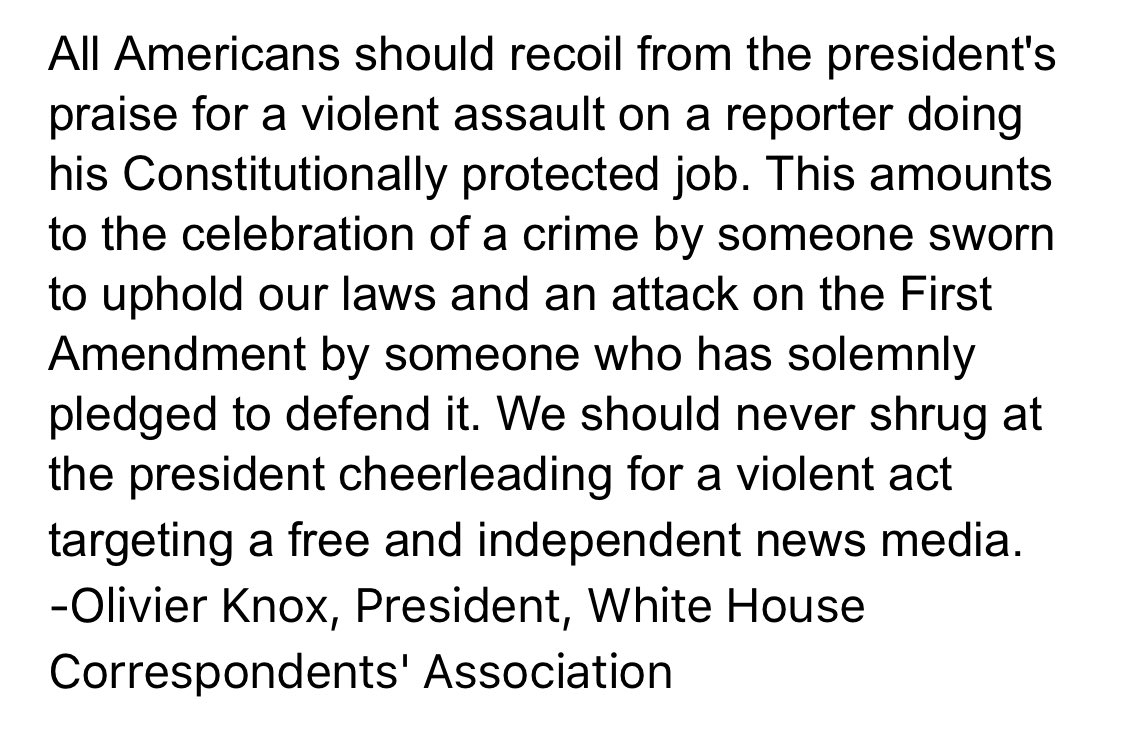 .@whca Statement on President's Remarks in Montana