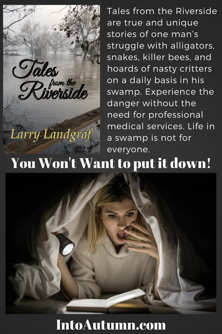 #RRBC #IAN1 #SFFBC 🥳 Tales from the Riverside 👍 ALL⭐️⭐️⭐️⭐️⭐️Amazon reviews (9) 🎉 Unique lifestyle 😏 Unique author 🙃 Unique book trailer 😊 One of a kind book 😲 youtu.be/BLrTcd5TTTM ❤️ Get your copy now >>> 😙 amazon.com/Larry-Landgraf…