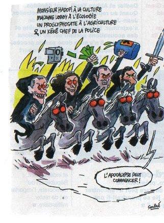 #RemaniementMinisteriel Ce remaniement est la chevauchée des incompatibles...  - FestivalFocus
