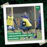Image for the Tweet beginning: So lief das letzte #Werder-Training