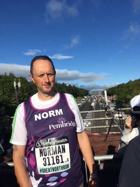 We are proud to have Norm Boulton representing us at the Frankfurt marathon on Sat 29 October! You can sponsor him at https://t.co/GjD1hZbw8E Norm completed the Great North Run for us last month and is fundraising in memory of his Mum, who we cared for earlier this year.