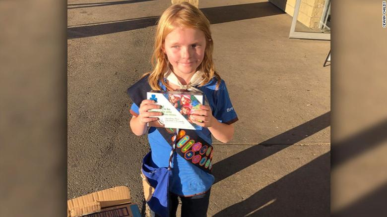 A 9-year-old Canadian cashes in on the long lines for pot — and sells out her Girl Scouts cookie supply https://t.co/DXp7bkemNl