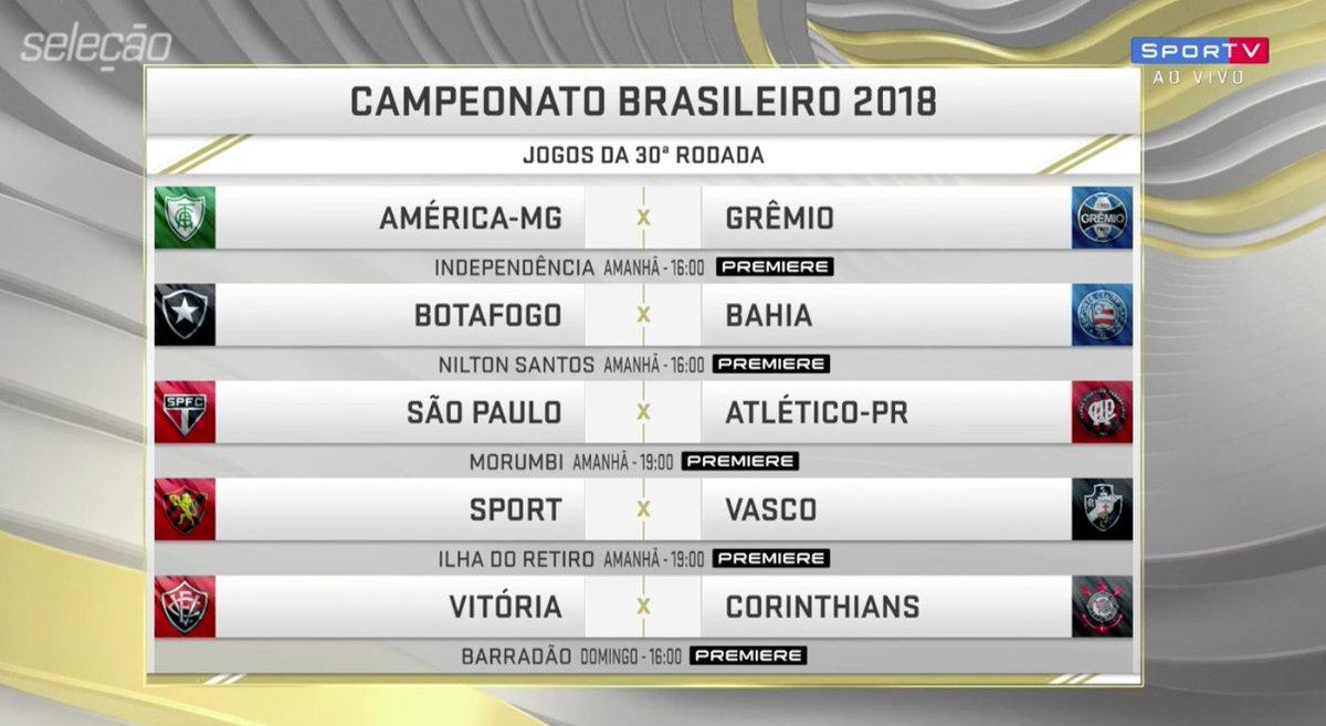 Se liga que tá chegando mais uma rodada de Brasileirão!   #SelecaoSporTV