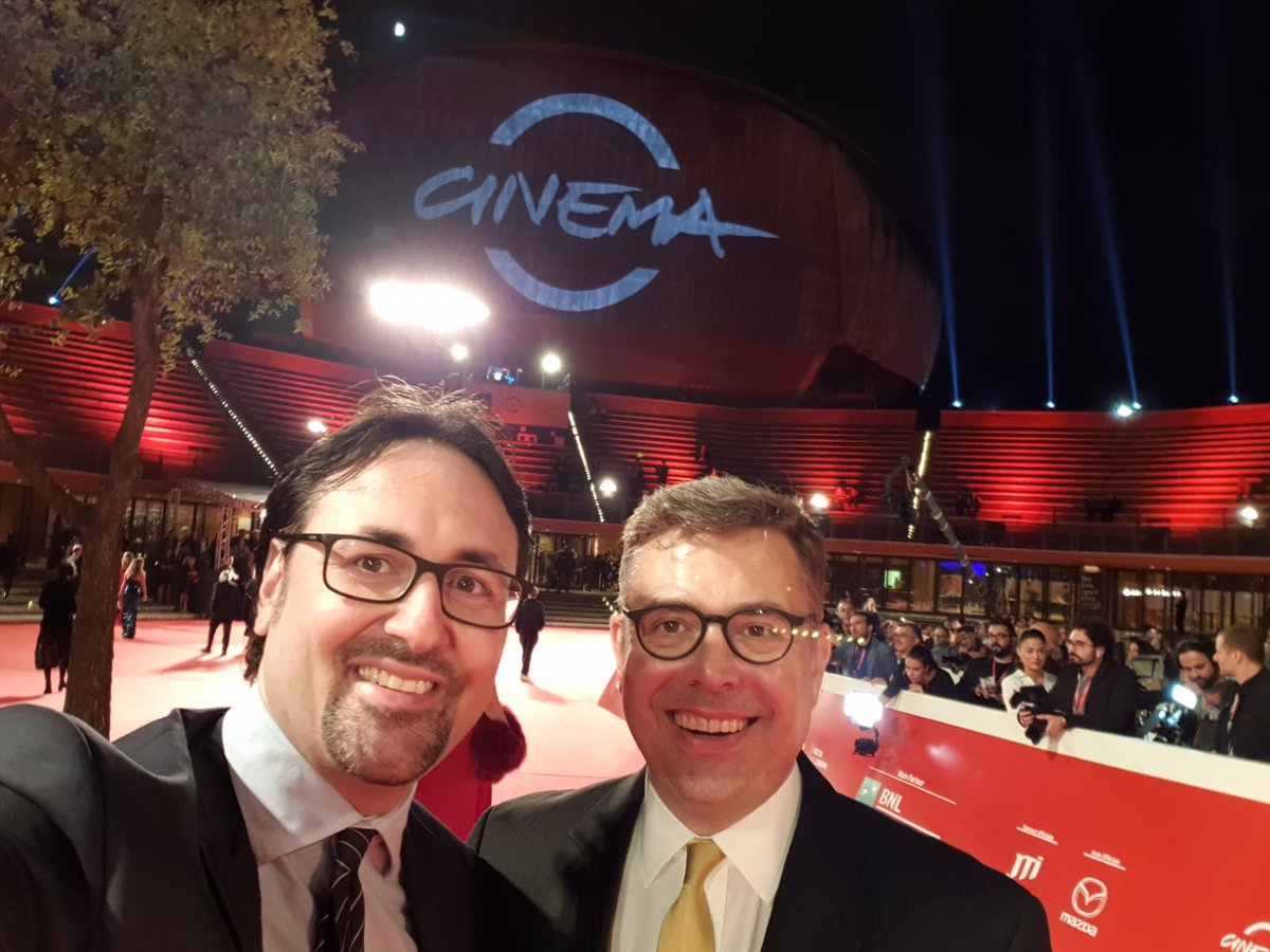 Yesterday at the opening night of Rome Film Festival with a big friend of our country and #FAPAV Stan McCoy President & Managing Director of Motion Picture Association EMEA to celebrate the art of cinema! #RomaFF13 #StandUpForCreativity