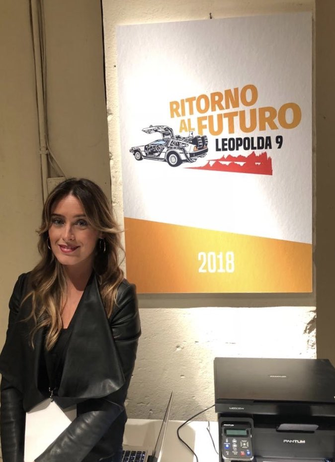 maria elena boschi's photo on #ritornoalfuturo