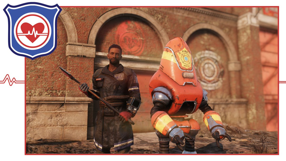 Leads On Non Fire Breathers Firefighter Outfits Fo76