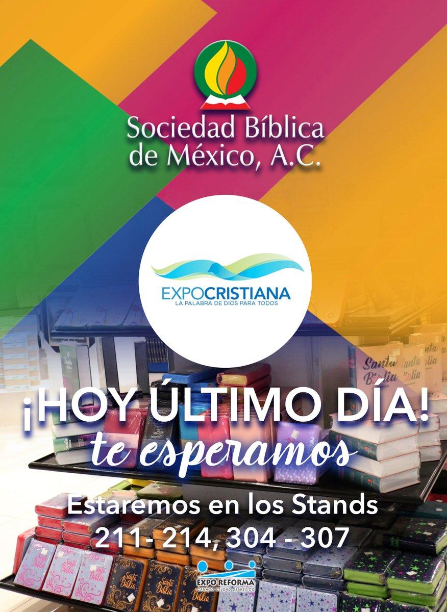 Te esperamos hoy, último día en #ExpoCristiana2018 nos encontramos en la planta baja.