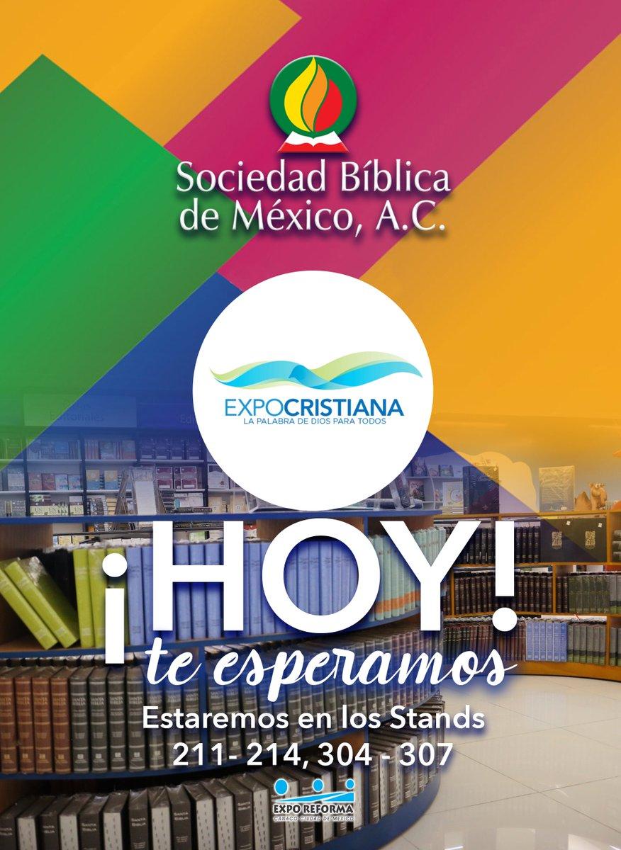 Te esperamos hoy en #ExpoCristiana2018 nos encontramos en la planta baja.