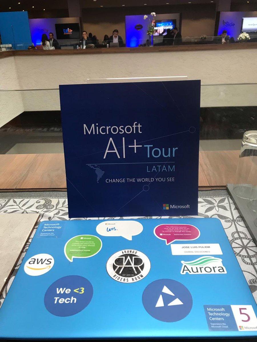 #ChangeTheWorldYouSee #MicrosoftAI+Tour  - FestivalFocus