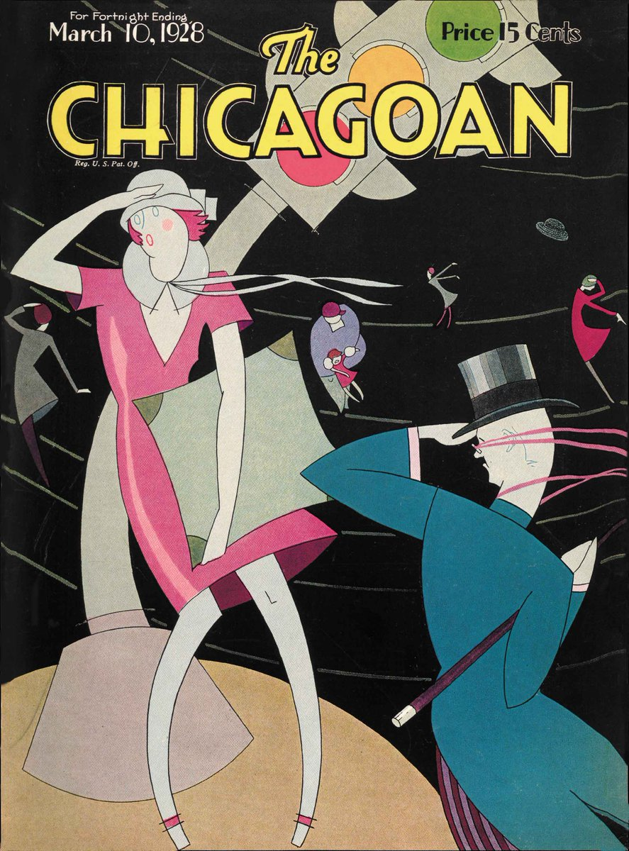 The Chicagoan, one of our regular social media features, is also covered in our book, Art Deco Chicago! Order your copy today at the link in our bio. (Cover Copyright The Quigley Publishing Company, a Division of QP Media, Inc.) #artdecochi #designingmodernamerica #chicago