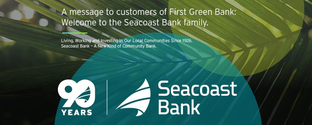 Learn More About Our 90 Years Of Commitment To The Florida Community Https Www Seacoastbank Seacoast Bank Story Banking