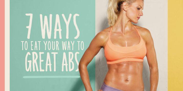 No matter how much physical effort you put into sculpting a smokin' six-pack, no one's going to see them if they're covered by a layer of flab. Healthier eating can help you in your quest for better abs. Here are 7 ways to eat your way to great abs: https://t.co/aAPNcrskgl