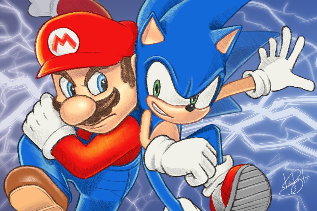 Death Battle Ar Twitter This Week S Fanartfriday Goes To Kaye Razelle On Deviantart Very Cool Work From A Super Talented Artist Go Check Her Out Https T Co Ztuzozuzoz Go Check Out Mario Vs Sonic