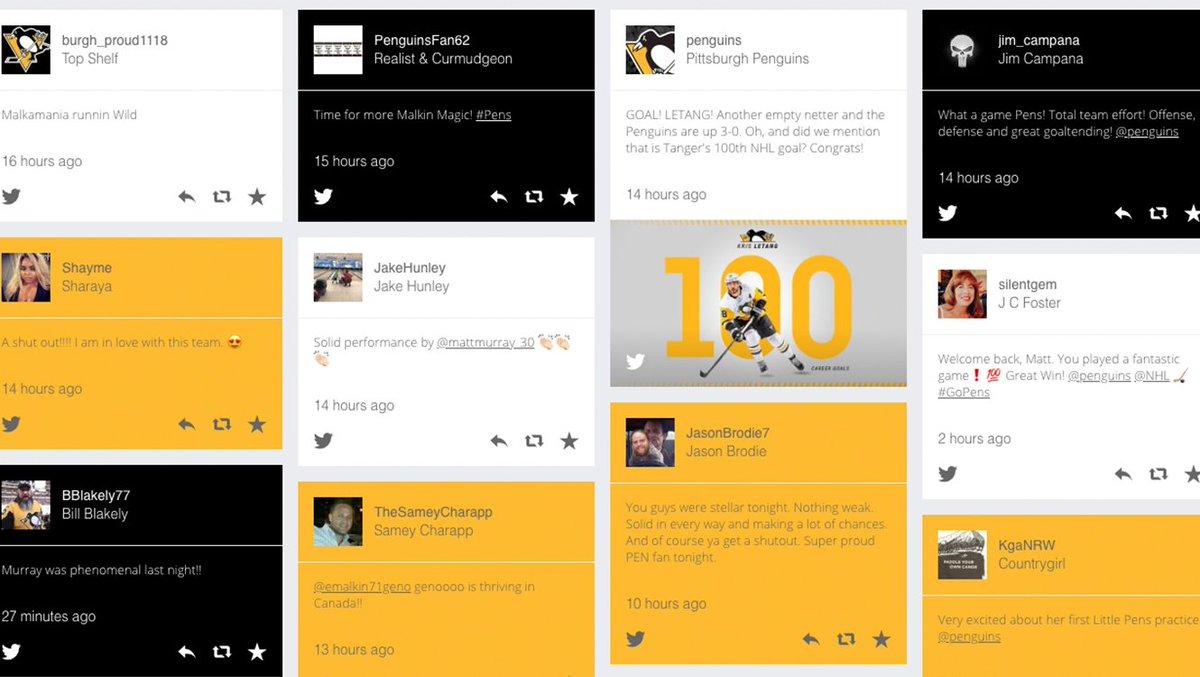 pittsburgh penguins website