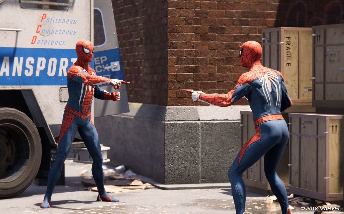 Turns out that the Spider-Man new game plus update is live right now, and it brings a ton of photo mode updates too: https://t.co/06Vofxv9B5